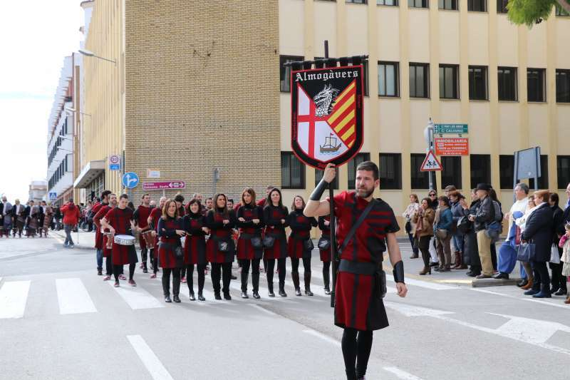 Un acto de los moros y cristianos en Torrent. EPDA