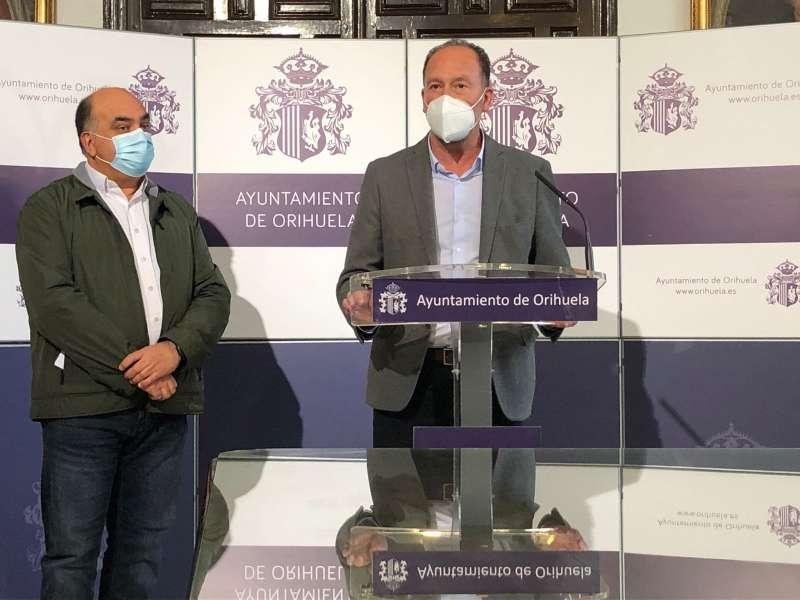Emilio Bascuñana y Vítor Valverde/EPDA