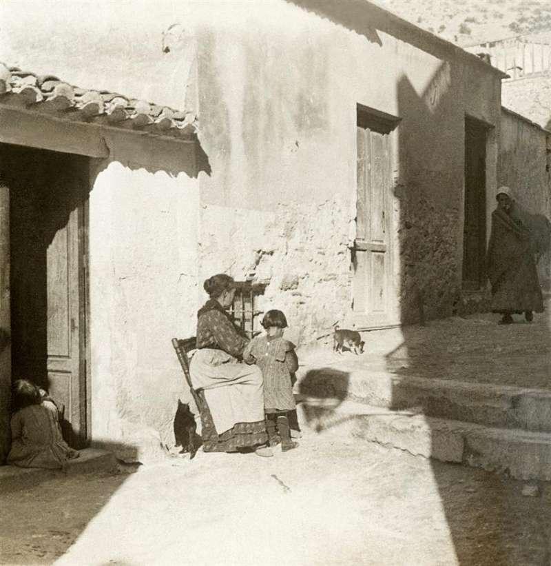 Imagen del barrio Las Provincias de Alicante en 1910, cedida por el Archivo Municipal de Alicante. EFE