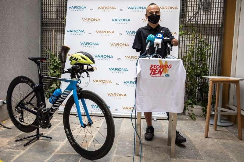El deportista Ricardo Ten, del Proyecto FER, será, junto a la nadadora Michelle Alonso, abanderado de España en los Juegos Paralímpicos de Tokio. EFE