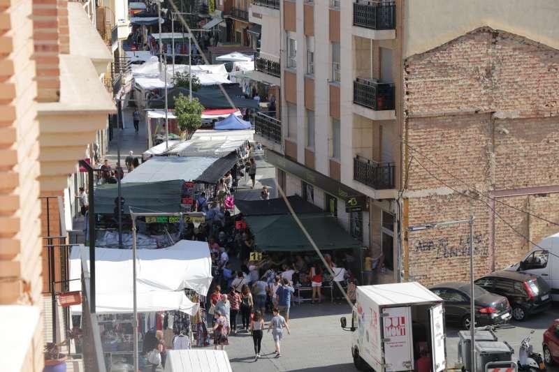 Mercado antes