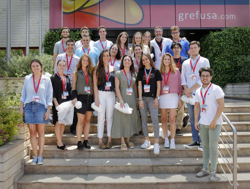 Estudiantes de Grefusa Business Challenge. EPDA