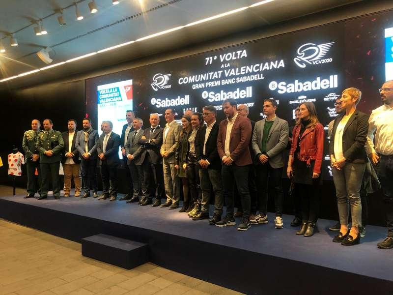 Presentación Vuelta Ciclista. EPDA
