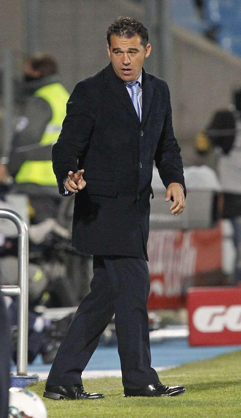 El entrenador Luis García Plaza. EFE