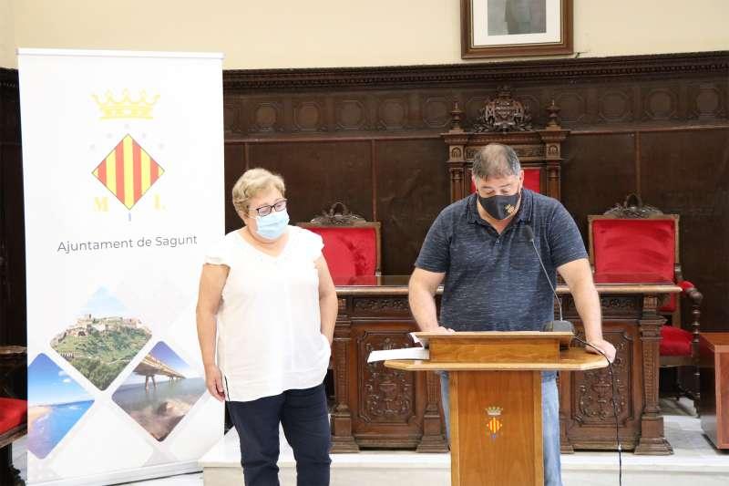 Alejandro Sotoca y Victoria Belis. / EPDA