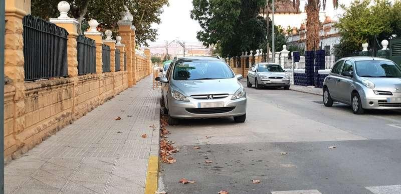 Se cortan calles junto a los colegios para evitar aglomeraciones