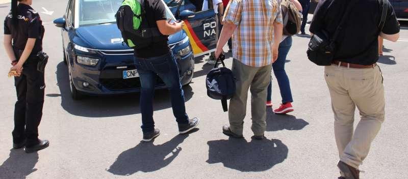 Fotografía facilitada por la Policía. EPDA.