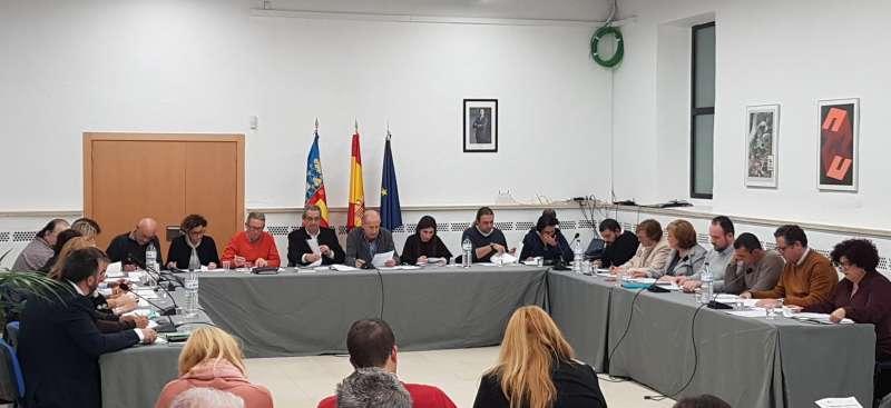 Imagen del Pleno en Manises. -EPDA