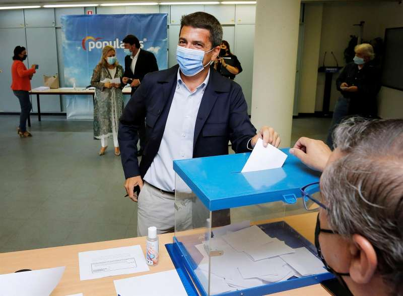 El PPCV celebra las votaciones para elegir su candidato a la presidencia del partido